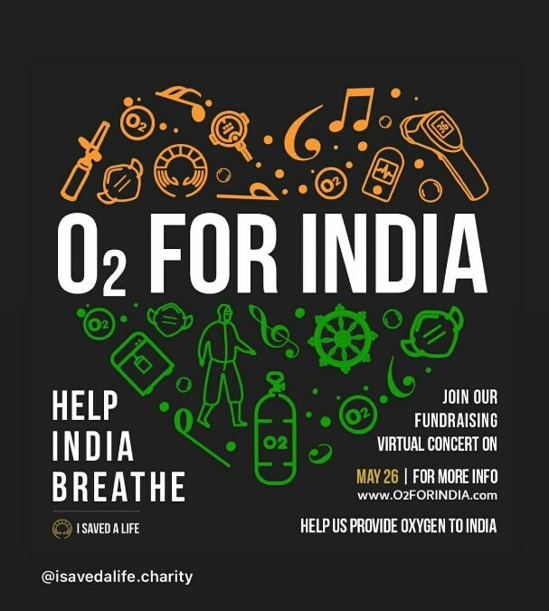Oxygen for India Campaign